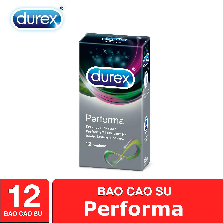 Bao Cao Su Durex Performa Siêu Kéo Dài 12 Condoms
