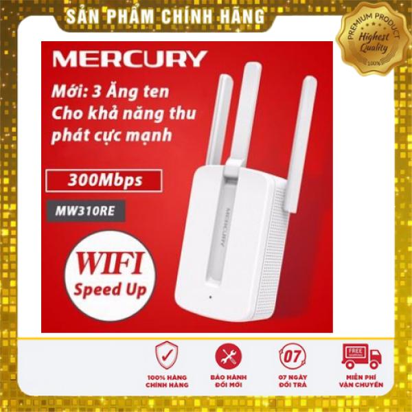 Giá Bộ kích sóng wifi 3 râu Mercury MW310RE- Sóng cực khỏe - Kích 3 râu Mercury