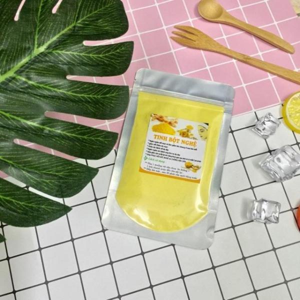 Tinh Bột Nghệ Nguyên Chất dưỡng da trắng hồng,ngừa thâm mụn (50g~100G)
