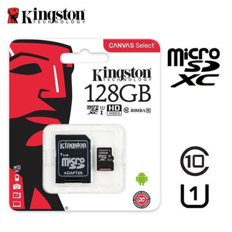 Thẻ nhớ MicroSDXC 128GB Kingston Class 10 USH-I 80MB/s