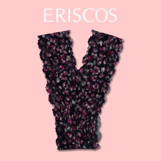 Quần lót chữ Y ren hoa thương hiệu ERISCOS kiểu dáng lọt khe, sexy quyến rũ, chất ren nhập khẩu mềm mại khô thoáng họa tiết ren hoa cherry dầm sữa chua ERQY007 thumbnail