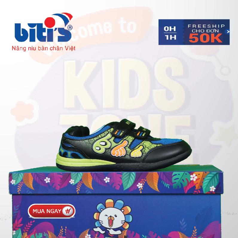 Giày Bitis like trẻ em chống hôi chân cho bé, đế cứng bảo vệ chân bé trước mọi vật cản sắc nhọn, bảo hành tại của hàng trên toàn quốc 1 năm. giá rẻ