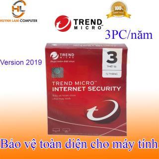 Phần mềm diệt virus internet Trend Micro 3pc năm 2019 hãng phân phối thumbnail
