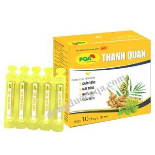 Thanh quản PQA hộp 10 ống hỗ trợ người Viêm thanh quản, Viêm Họng, Viêm Amidan thumbnail