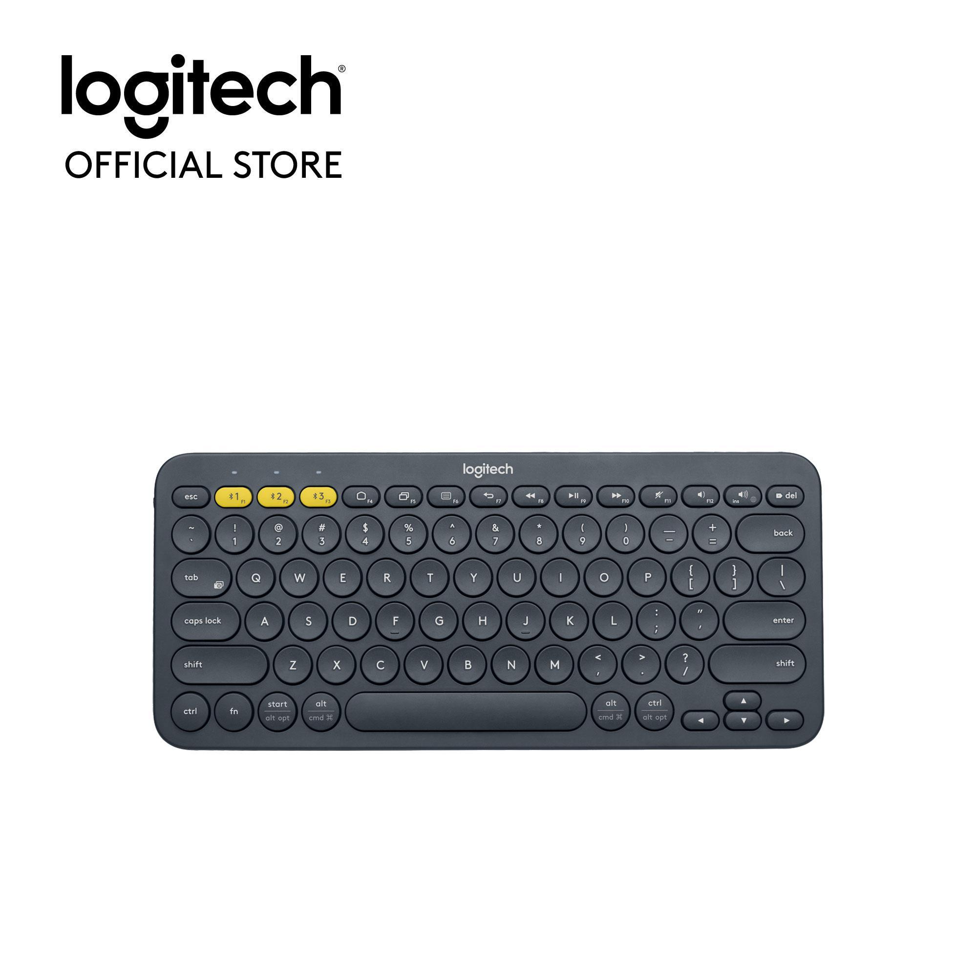 Bàn Phím Bluetooth Logitech K380 Multi-Device - Kết Nối Bluetooth, Tương Thích Nhiều Nền Tảng, Trọng Lượng Nhẹ, Phạm Vi Kết Nối Không Dây 10m Giá Cực Cool