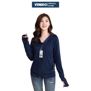 Áo chống nắng nữ đẹp vải kim cương thông hơi cao cấp hàng xuất khẩu Venado thumbnail