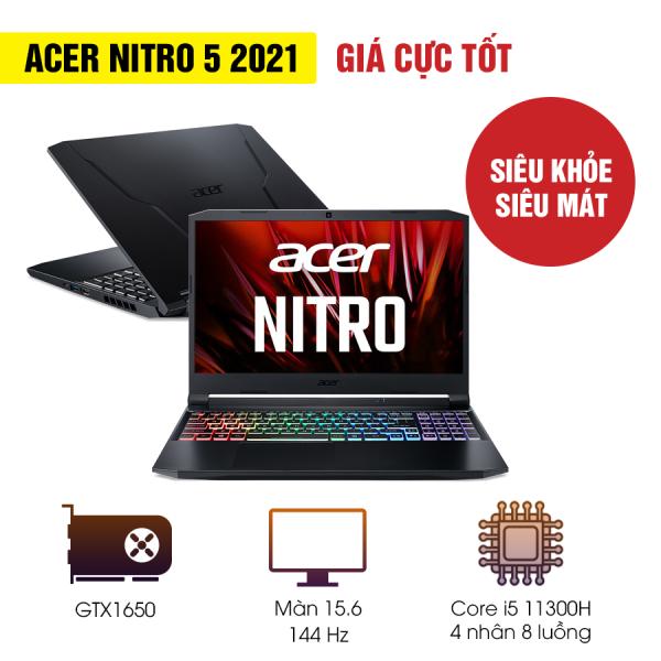 Bảng giá Laptop Acer Nitro 5 AN515-56-51N4 (NH.QBZSV.002)/ Black/ Intel Core i5-11300H (up to 4.40 Ghz, 8 MB)/ RAM 8GB DDR4/ 512GB SSD/ Nvidia Geforce GTX1650 4GB/ 15.6 inch FHD/ WC+WL+BT/ 57 Whr/ Win 10H/ 1 Yr Phong Vũ