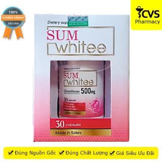 SUM Whitee - Hộp 30 viên uống trắng da, ngừa lão hoá - Sumwhitee - cvspharmacy thumbnail