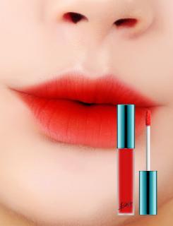 (Sẵn) Son Kem Lì Bbia Last Velvet Lip Tint 02 Extra Bounce - Đỏ Cam thumbnail
