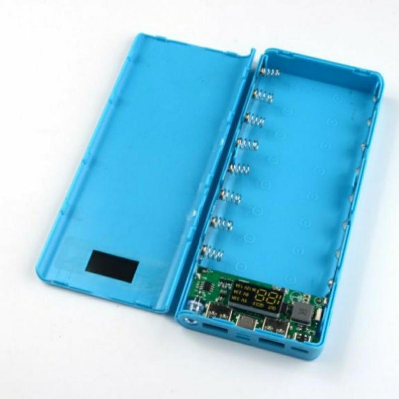 Bảng giá Compo 5 Box sạc dự phòng 8 cell QC 3.0 hỗ trợ sạc nhanh cả 2 chiều full cổng sạc Phong Vũ