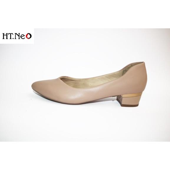 Giày Cồng Sở Nữ 💖 Ht.Neo 💖 Da Bò Thật Kiểu Dáng Nhẹ Nhàng Đơn Giản, Phối Đồ Cực Dễ Sử Dụng Trong Nhiều Môi Trường. giá rẻ
