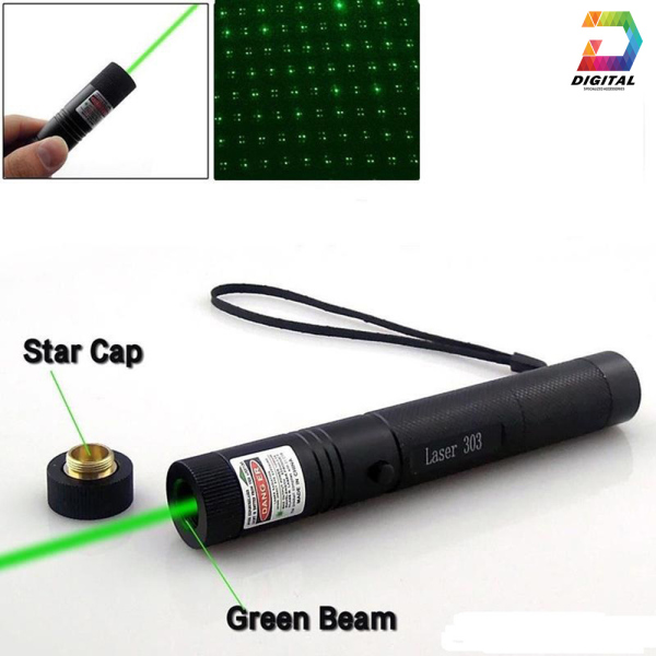 Đèn Pin Chiếu Tia Laser 303 Cao Cấp