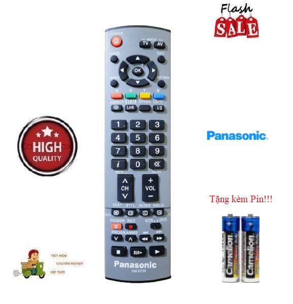 Bảng giá Remote Điều khiển tivi Panasonic RM-D720 các dòng LCD/LED Hàng chất lượng cao Tặng kèm Pin!!!