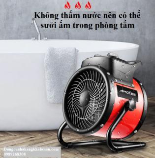 Quạt sưởi điều hòa công suất 2000W Amoi- Công nghệ sưởi PTC và chống thấm nước IPX4- Hàng nội địa Trung Quốc cao cấp- Sử dụng công nghiệp và gia đình- Bảo hành 1 năm bởi Q&A thumbnail