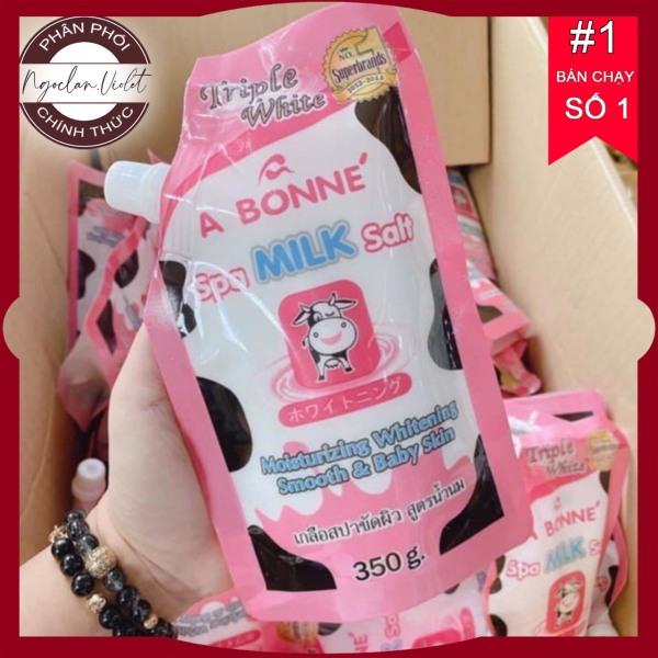 Muối Tắm ⚜️FREESHIP⚜️ Muối tắm trắng Thái Lan vị sữa bò A BONNE SPA MILK SALT