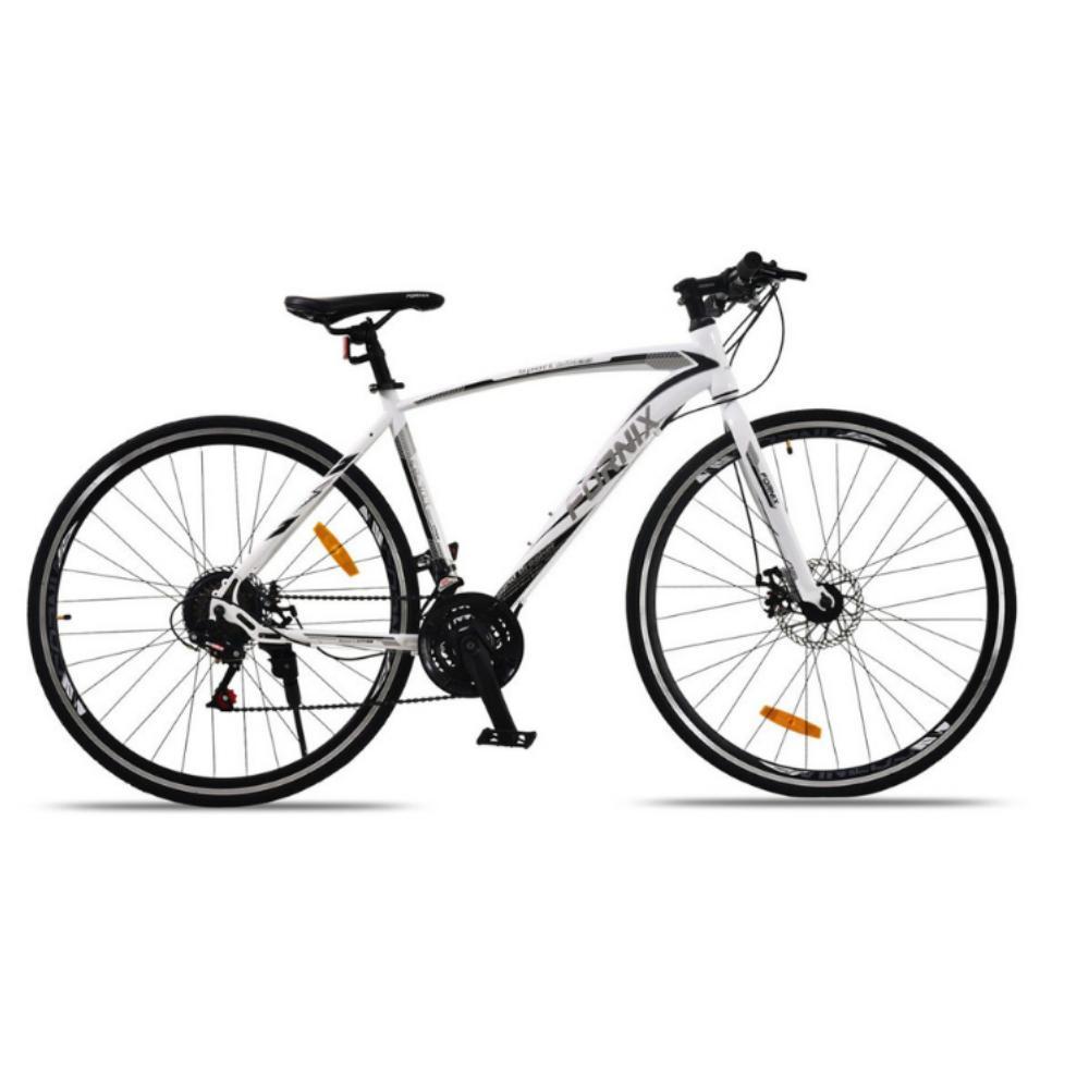 Mua Xe đạp đường trường FR303 màu trắng đen sang trọng