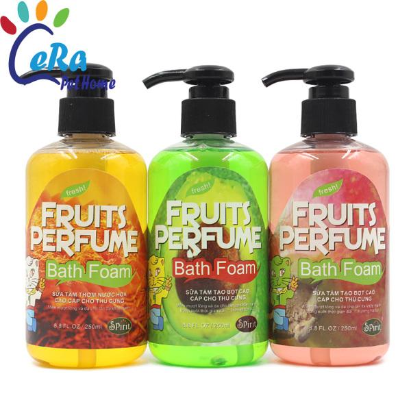 Sữa Tắm Thơm, Tạo Bọt, Làm Sạch Cao Cấp - Fruits Perfume - 250 Ml