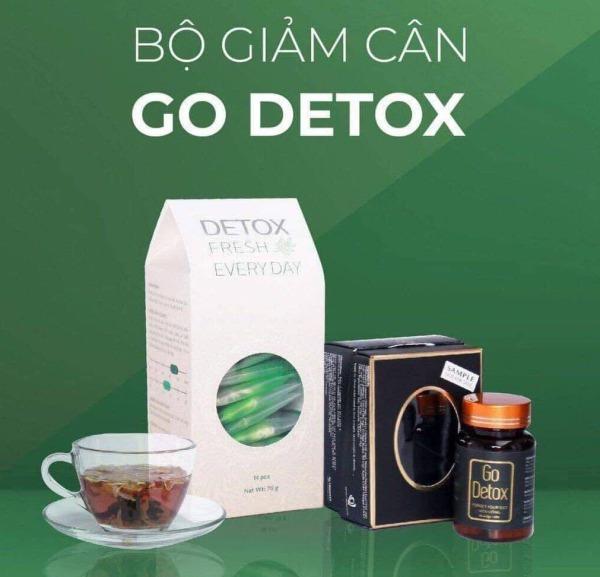 Trà giảm cân Go Detox Combo