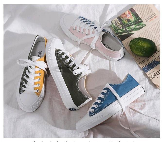 Giày Nữ Thời Trang Phong cách Hàn Mới giá rẻ