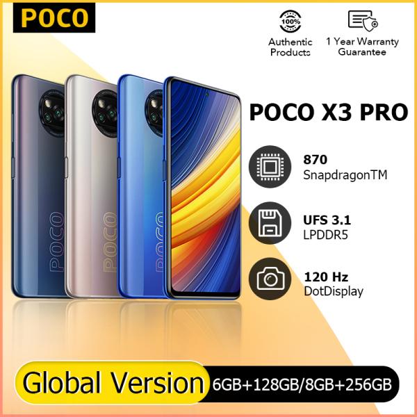 POCO X3 Pro (6GB/128GB   8GB/256GB)   Nguyên Điện thoại Phiên bản toàn cầu - Bảo hành 18 tháng  POCO Global Store