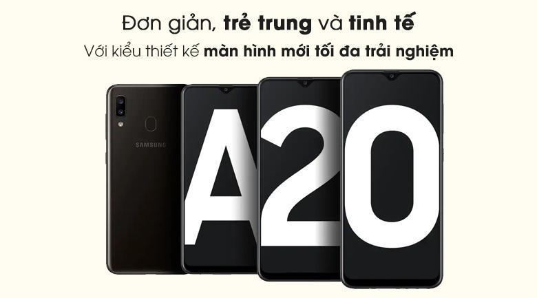 Điện thoại Samsung Galaxy A20 (hàng trưng bày)