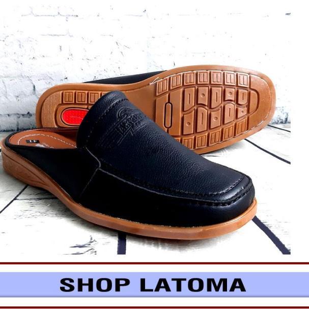 Dép da nam, dép bít mũi, giày sục, giày lười, kiểu dáng hiện đại vận động dễ dàng và lịch lãm thời trang cao cấp Latoma TA3251 (Nhiều Màu) giá rẻ