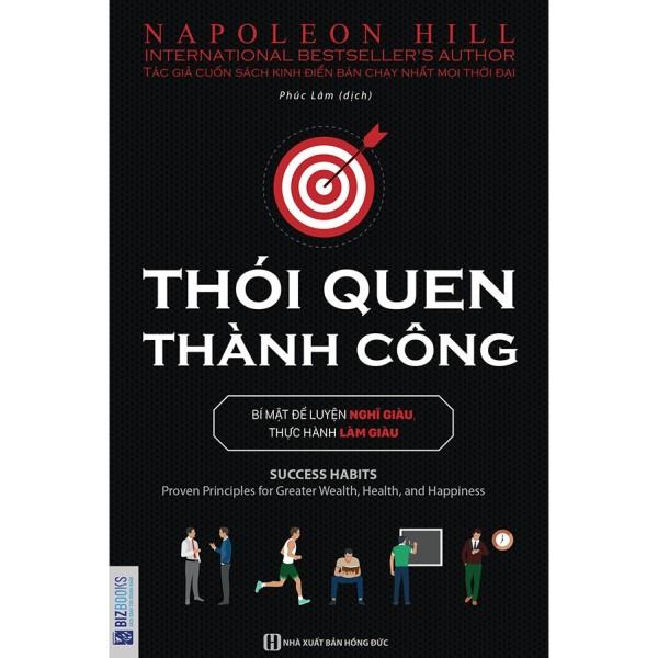 Sách - Thói Quen Thành Công: Bí mật luyện nghĩ giàu, thực hành làm giàu + tặng kèm Booksmart
