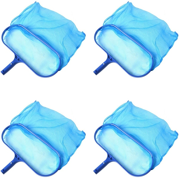 Swimming Pool Skimmer Net Deep Water Net, Swimming Pool Leaf Net, Used to Remove Leaves on the Swimming Pool 4 Packs