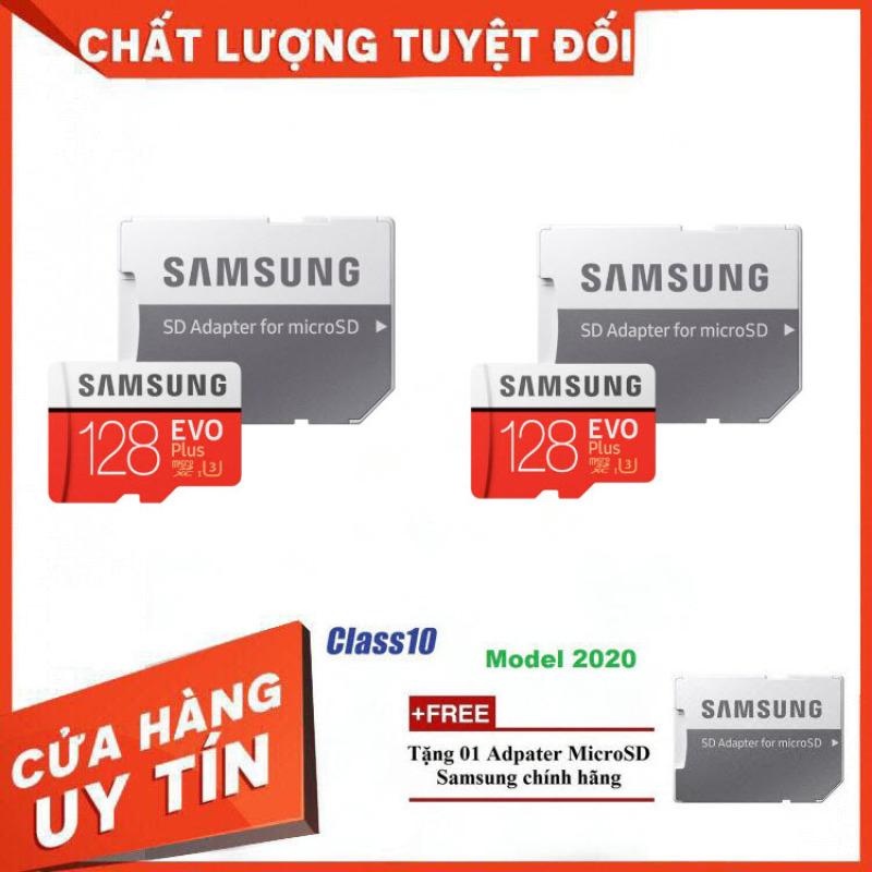 Combe 2 Thẻ nhớ MicroSD Samsung EVO Plus 4K 128GB 100MB/s 128GB Box Hoa - Hàng Chính Hãng
