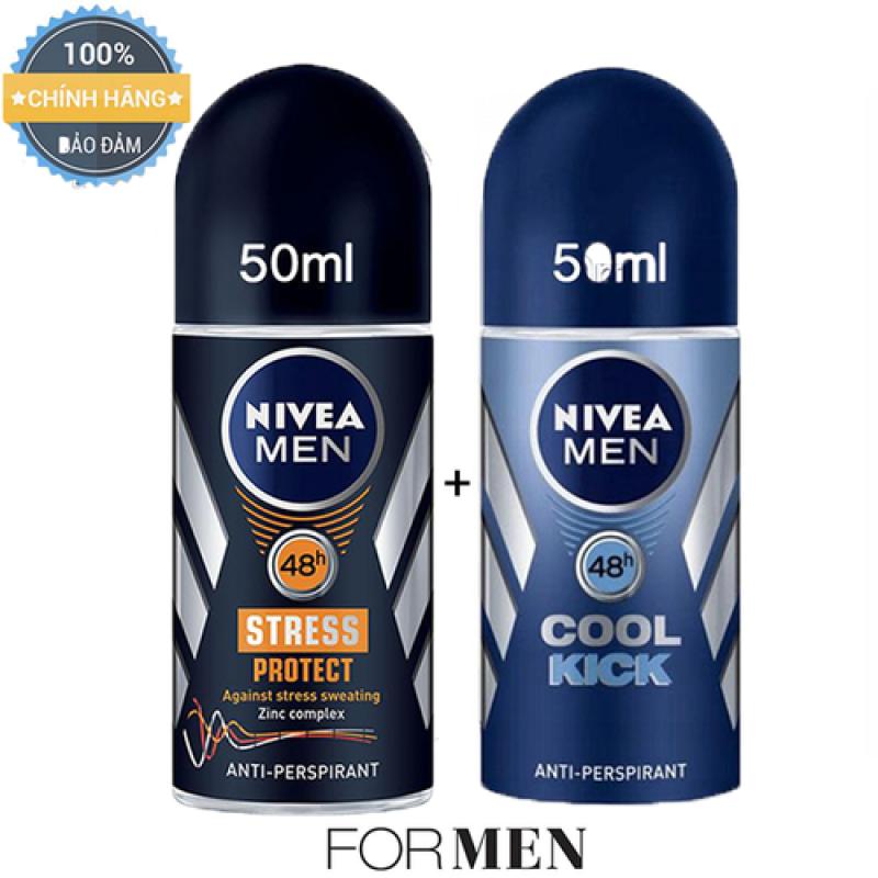 2 CHAI LĂN KHỬ MÙI NIVEA MEN - MỸ - 50ml/chai giá rẻ