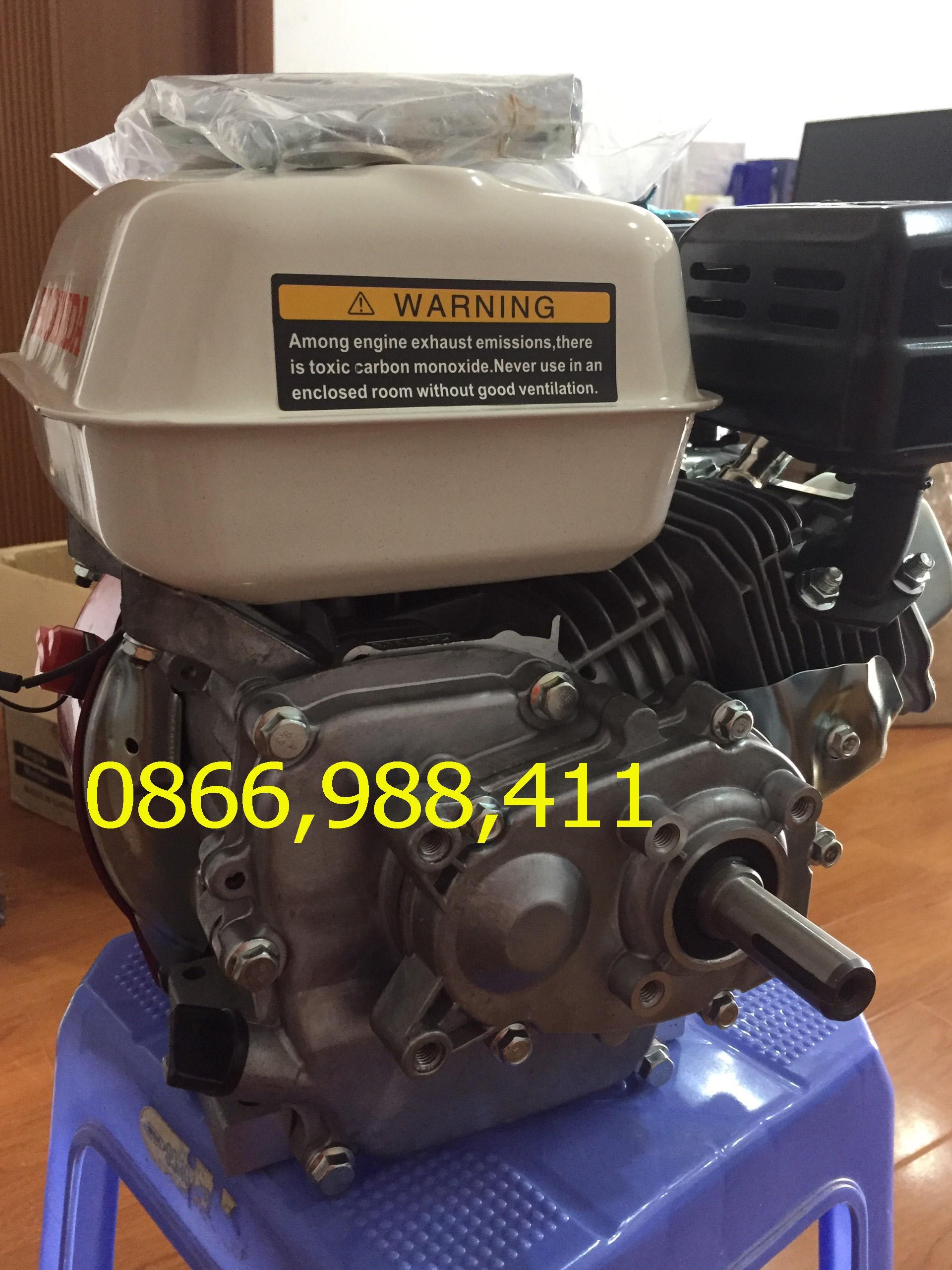 Động cơ 5.5 hp HONDA trục lệch GX160L, động cơ cốt xéo, đầu nổ giảm tốc