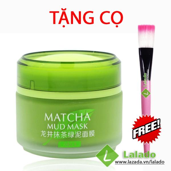 Mặt nạ trà xanh Matcha Mud Mask dưỡng ẩm làm mịn da kèm QUÀ TẶNG giá rẻ