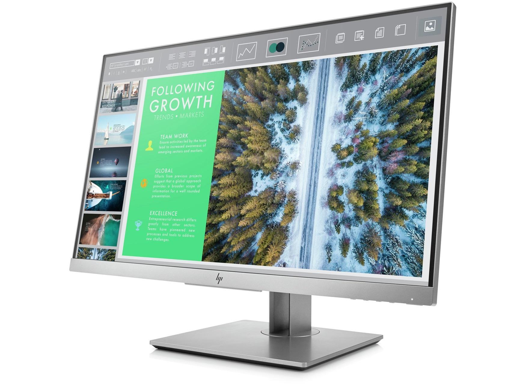 Monitor HP EliteDisplay 23.8 E243 LED IPS - Lazada