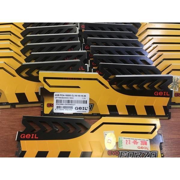Bảng giá [Nhập ELJAN11 giảm 10%, tối đa 200k, đơn từ 99k]Ram 4g ddr4/2400 geil tản thép vàng chóe cam kết sản phẩm đúng mô tả chất lượng đảm bảo an toàn đến sức khỏe người sử dụng Phong Vũ
