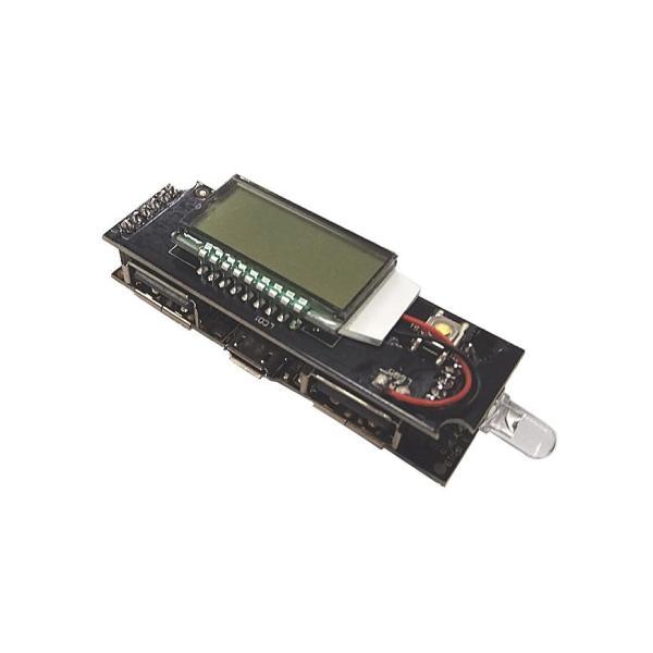 Module mạch Sạc dự phòng 2A có LCD hiển thị HO-202L - DIY Sạc dự phòng - Mạch không giới hạn số lượng pin dung lượng