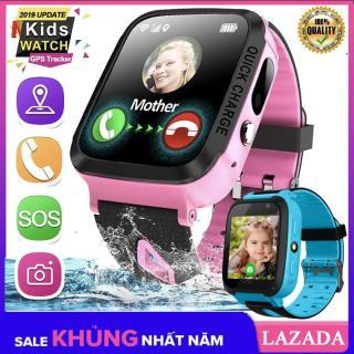 [Sale 50%] Đồng hồ định vị trẻ em S4 phiên bản tiếng Việt, Đồng hồ định vị có Camera, Đèn pin, chống nước nhẹ, nghe gọi, nhắn tin( đồng hồ đa chức năng) thumbnail