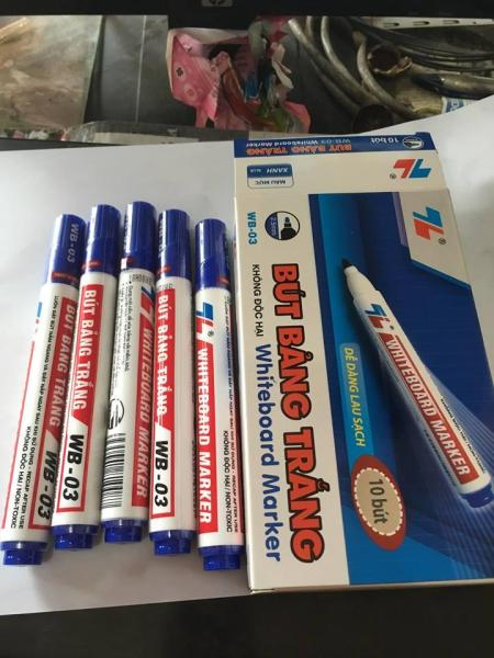 Mua 10 Bút Lông Bảng Thiên Long Màu Xanh