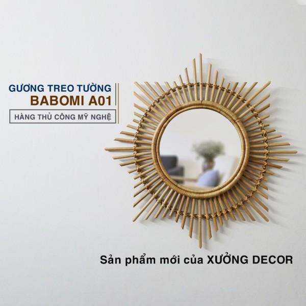 Gương Decor Babomi- Hàng Thủ Công Việt Nam Xuất Khẩu