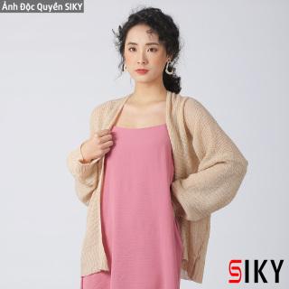 Áo Cadigan len mỏng phong cách Hàn Quốc - Siky thumbnail