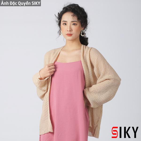 Áo Cadigan len mỏng phong cách Hàn Quốc - Siky