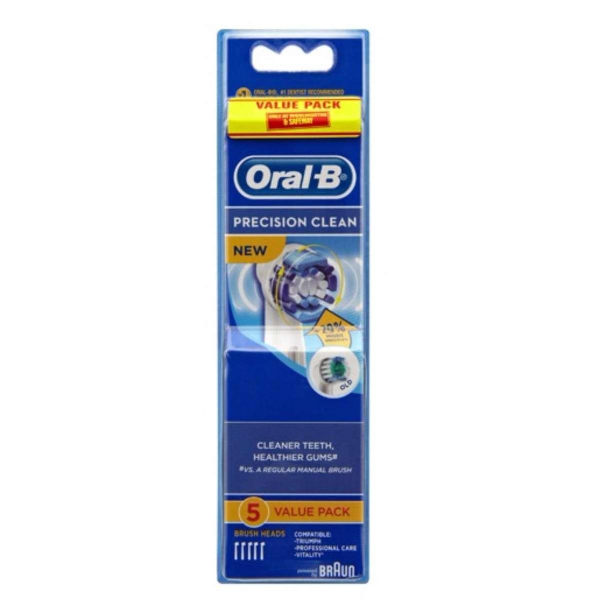 Giá Set 5 Đầu bàn chải điện Oral-B Precision Clean