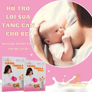 [Freeship- giảm giá 10% cho 1 sản phẩm 10.000đ] Bột ngũ cốc lợi sữa OMEGA-3 cho mẹ ,bột ngũ cốc lại sữa OMEGA-3 cho phụ nữ mới xinh con,family helath thumbnail