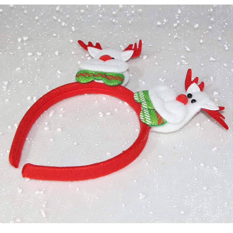 Băng đô cài tóc trang trí Noel 2 đầu có đèn LED - MIA SHOP