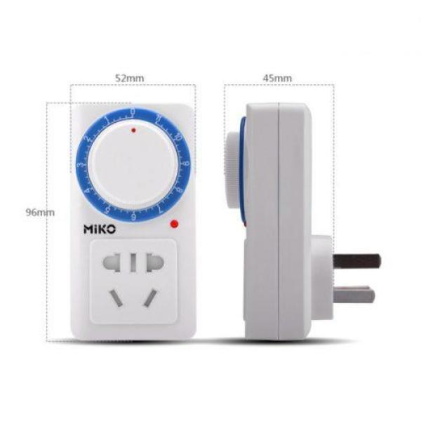 Ổ cắm hẹn giờ lùi bằng cơ Miko MK958 10A/220V sử dụng đơn giản, ổ cắm điện thông minh, ổ cắm đa năng, cong tac hẹn giơ giá rẻ