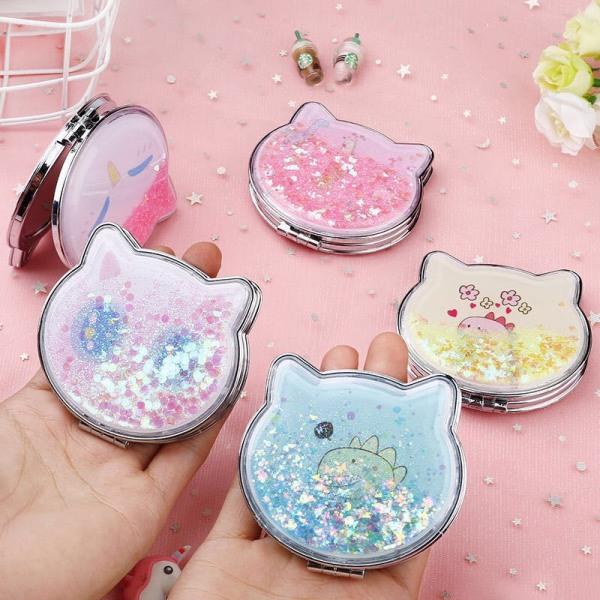 Gương 2 mặt mini hình mèo giá rẻ