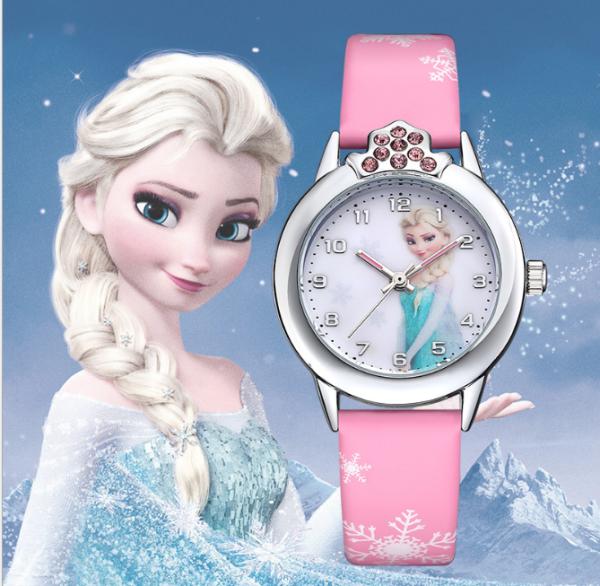 [HCM][CÓ VIDEO] Đồng hồ trẻ em công chúa Elsa và Anna chống trầy xước chống nước tốt tặng pin dự phòng bảo hành 2 năm