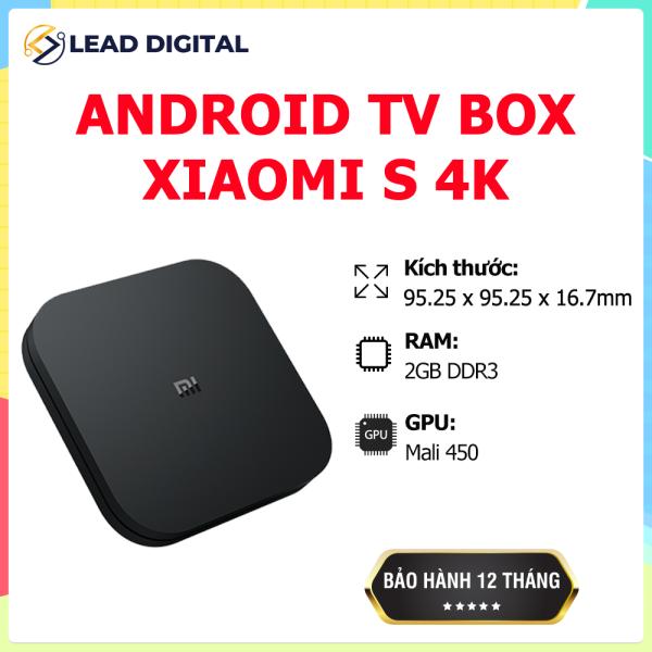 Bảng giá [GLOBAL VERSION] Xiaomi Android TV Mi Box S - Hỗ trợ Tiếng Việt, Độ phân giải 4K (3840 x 2160), CPU 4 nhân,Ram 2GB, Rom 8GB, Kết nối Wifi, Bluetooth 4.2, HDMI, hỗ trợ tiếng Việt - Bảo Hành Chính hãng 12 Tháng-Fullbox
