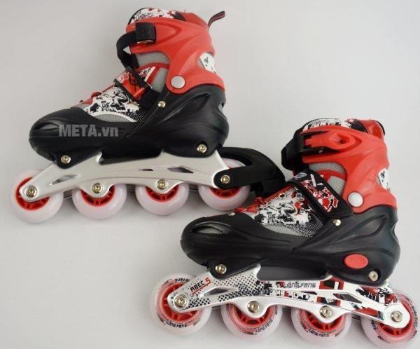 Mua Giày trượt Patin cao cấp Long Feng 906 (4 Màu ) Đỏ - Đen Trắng - Xanh - Hồng - Size S, M, L (30 - 42)