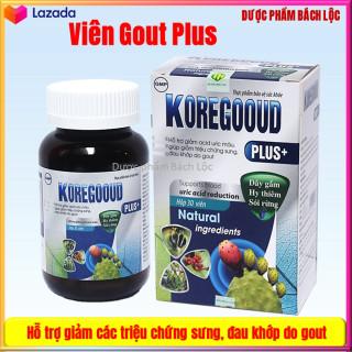 Viên Uống Giảm Gut KoreGooud Plus - Giúp Ổn Định Acid Uric Trong Máu, Giảm Đau Gout Hiệu Quả, thumbnail