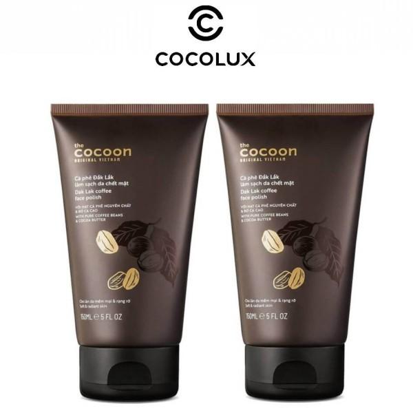 Tẩy Tế Bào Chết Mặt Cà Phê Đắk Lắk Cocoon 150ml-[COCOLUX] giá rẻ
